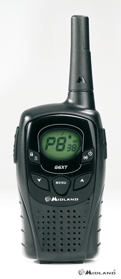 Intercom Midland G6 XT  -  Coppia di radio