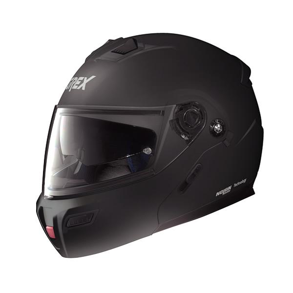 Grex G9.1 Kinetic full-face flip-up helmet flat black