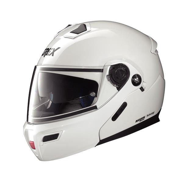 Grex G9.1 Kinetic full-face flip-up helmet metal white