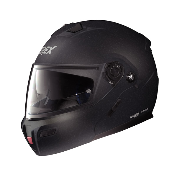 Grex G9.1 Kinetic full-face flip-up helmet black graphite
