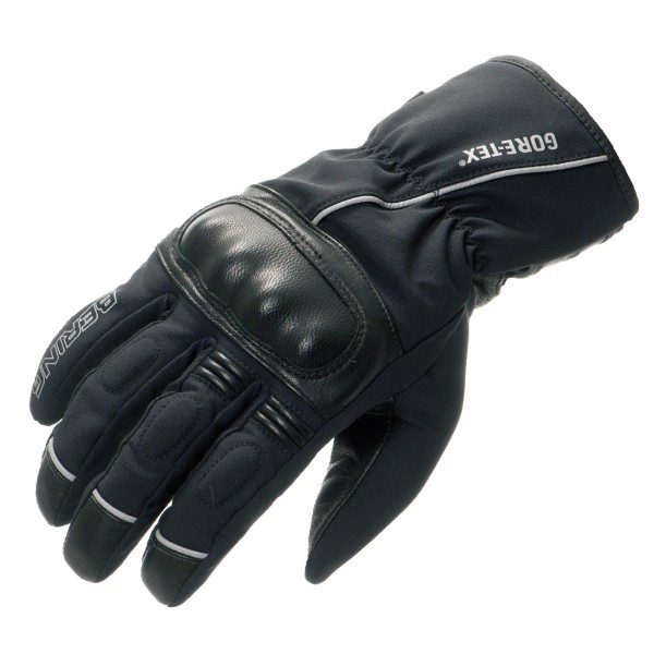Summer Motorcycle Gloves Gore Tex approved Bering Zeus Black