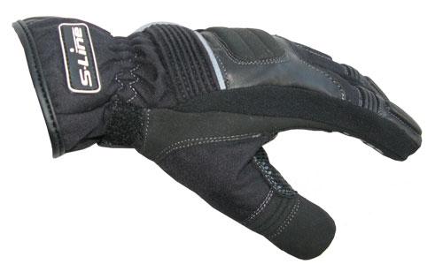 S-LINE Gan 900 Leather & Textile Winter Gloves