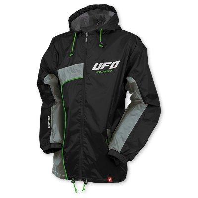 Storm rain jacket UFO Black