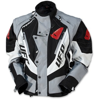 UFO enduro jacket with detachable sleeves Black Ranger