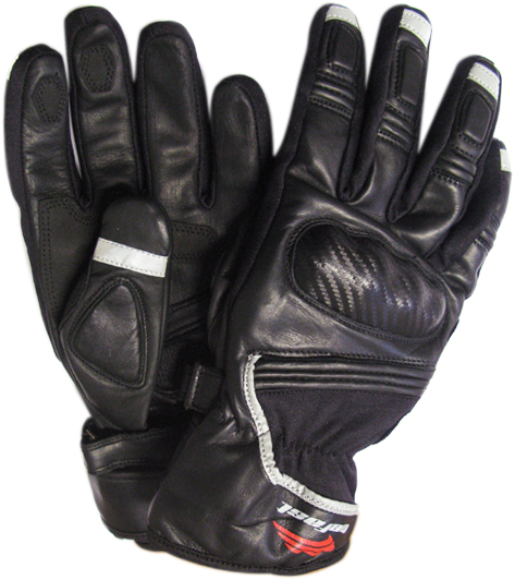 Befast GD-WIN leather gloves Black