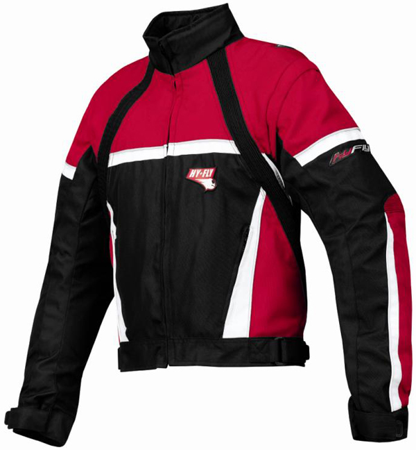 Hy Fly Game Tex jacket Red