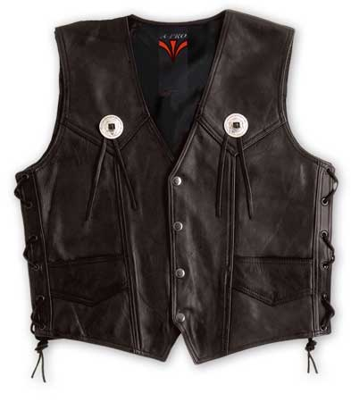 A-PRO Gambler Leather Vest