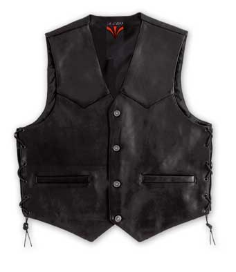 A-PRO Wild Leather Vest