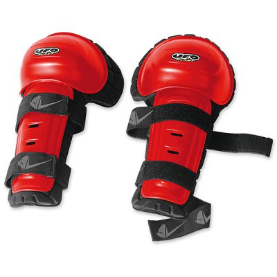 Couple thermoformed knee Knee Shin Red UFO