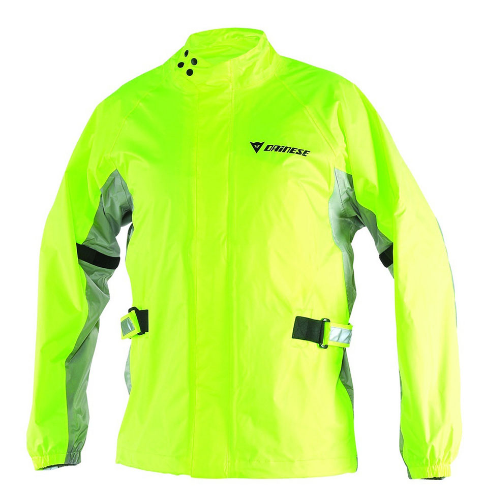 Giacca impermeabile Dainese D-Crust Plus giallo fluo antracite