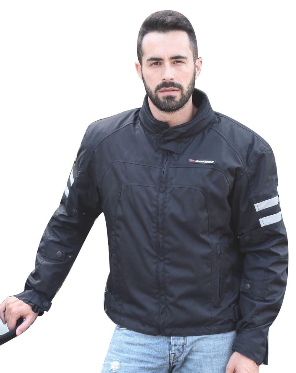 Giacca moto Befast New Winter Nero