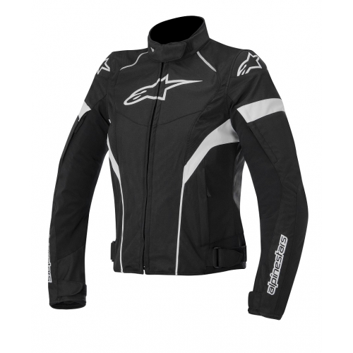 Giacca moto donna Alpinestars Stella T-GP Plus Nero Bianco