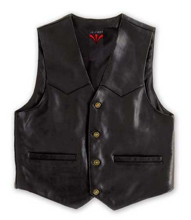 A-PRO Shot Leather Vest