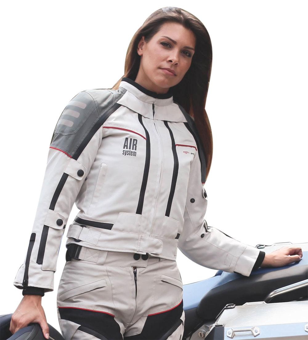Giubbotto moto donna All Season Befast con Air System 4 stagioni