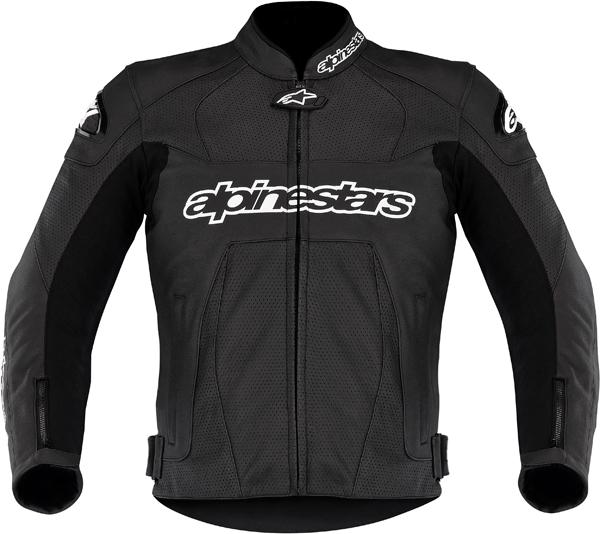 Giacca moto pelle Alpinestars GP Plus Perforated nera
