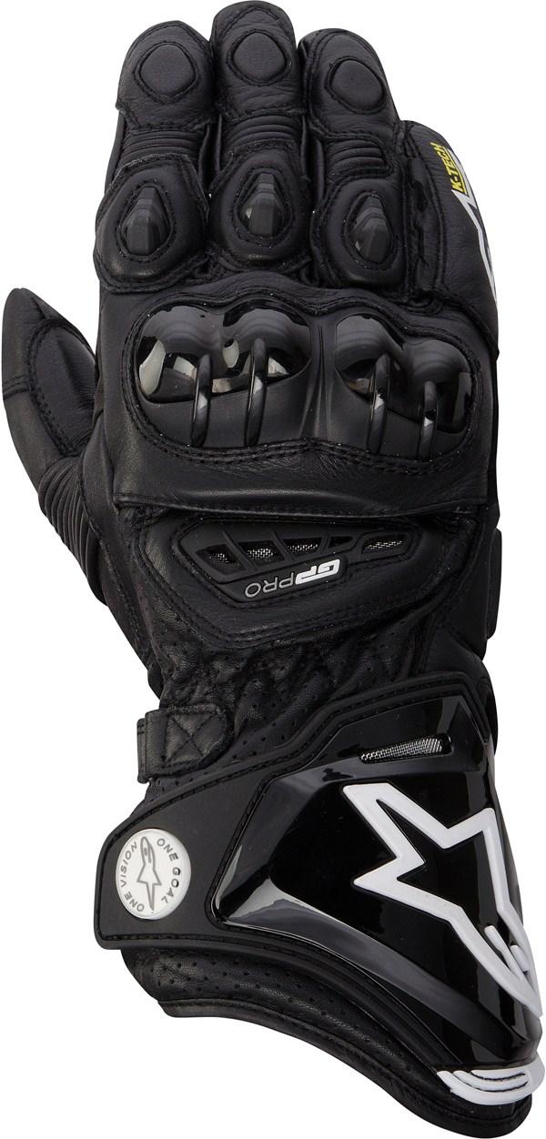 Alpinestars GP PRO gloves all black
