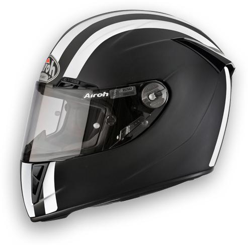 Airoh GP 400 Motorcycle Helmet Matte Black Circuit