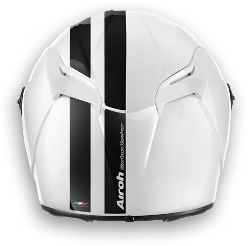 Motorcycle Helmet Airoh GP 400 Circuit glossy white