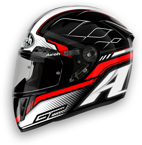 Motorcycle Helmet Airoh GP 400 Lemans glossy black