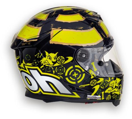 Airoh GP 500 Replica Iannone black full-face helmet