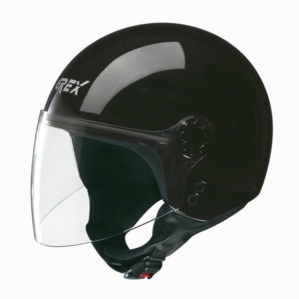 Grex DJ1 Visor One jet helmet Black