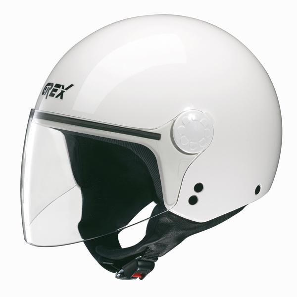 Casco moto jet Grex DJ1 Visor One bianco