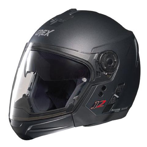 Grex J2 PRO Kinetic crossover helmet Black Graphite