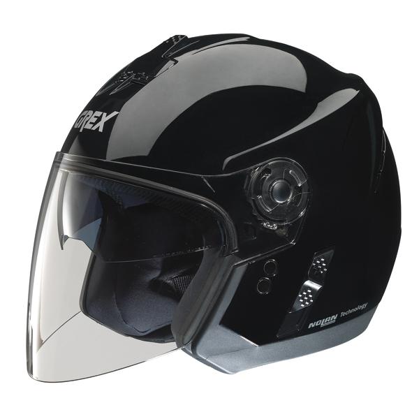 Grex J2 One jet helmet Black
