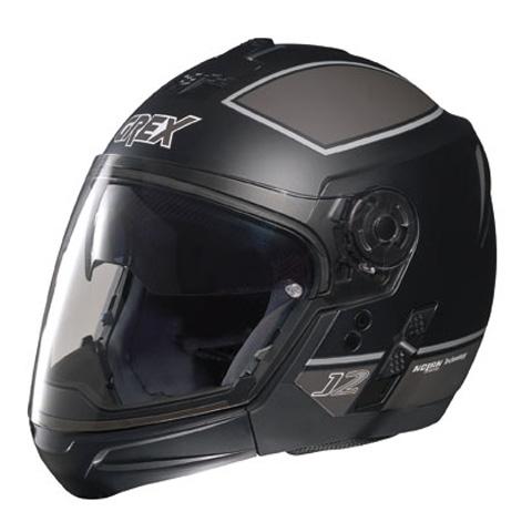 Grex J2 PRO Blaze crossover helmet Flat Black Grey