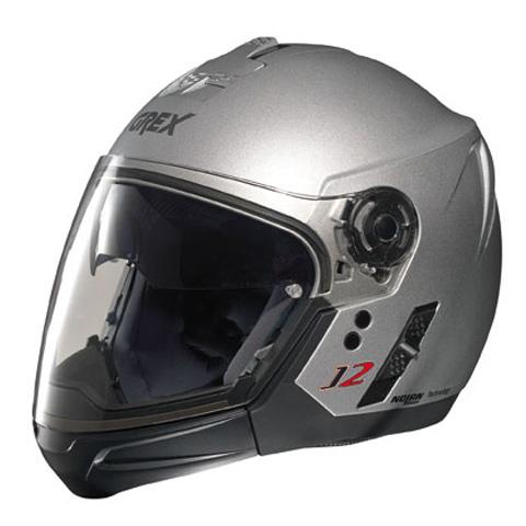 Grex J2 PRO Kinetic crossover helmet Metal Silver