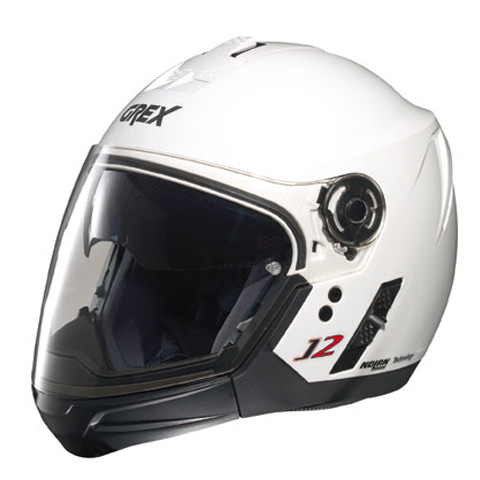 Grex J2 PRO Kinetic crossover helmet Metal White