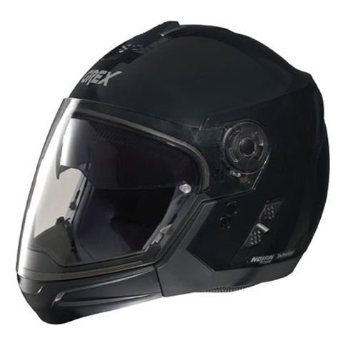 Casco moto Grex J2 PRO One nero - mentoniera staccabile