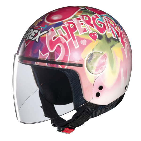 Grex K1 Visor Fancy kid jet helmet 11