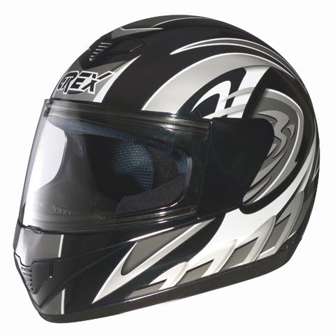 Casco moto integrale Grex R1 Decor Nero