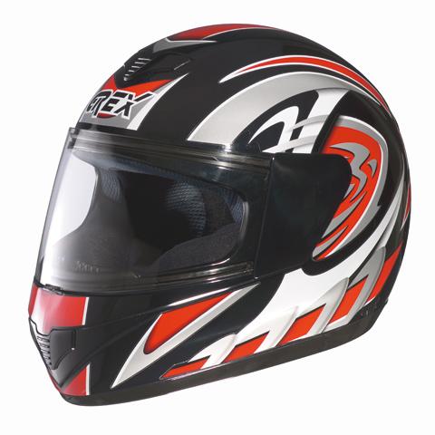 Grex R1 Decor full face helmet Red