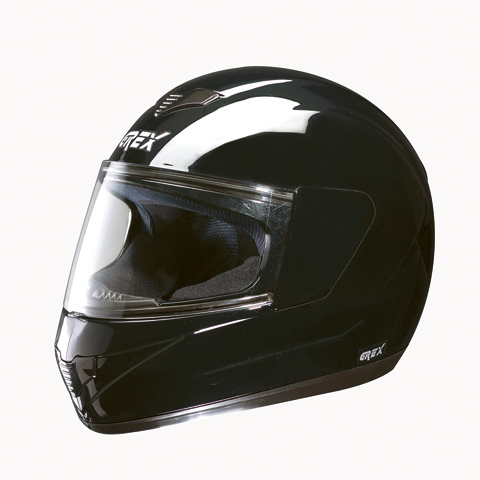 Grex R1 One full face helmet Black