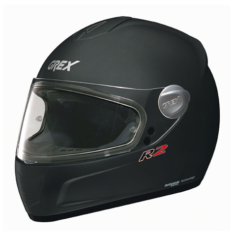 Casco moto integrale Grex R2 Kinetic Nero Opaco