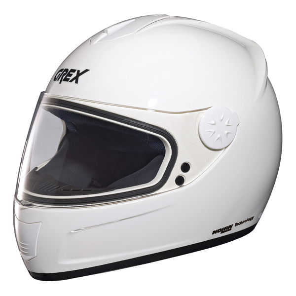 Grex R2 One full face helmet White