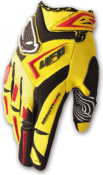 Ufo Plast Ignition enduro gloves yellow