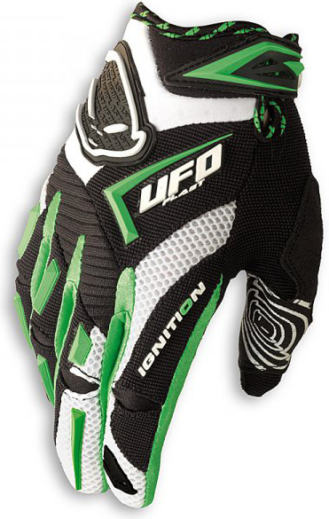 Ufo Plast Ignition enduro gloves green