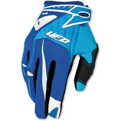 Gloves UFO cross Exus Gloves Blue