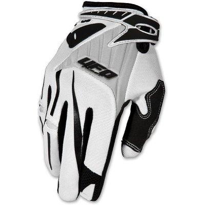 Gloves UFO cross Exus White Gloves