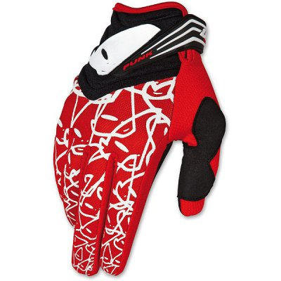 Gloves cross UFO Punk Red Gloves
