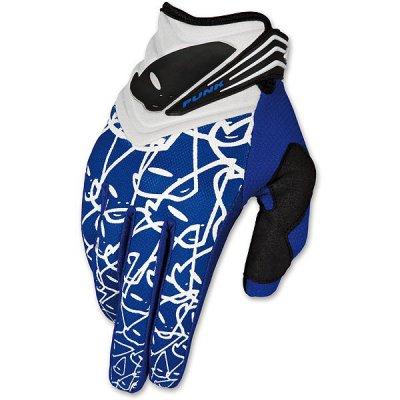 Guanti cross UFO Punk Gloves Blu