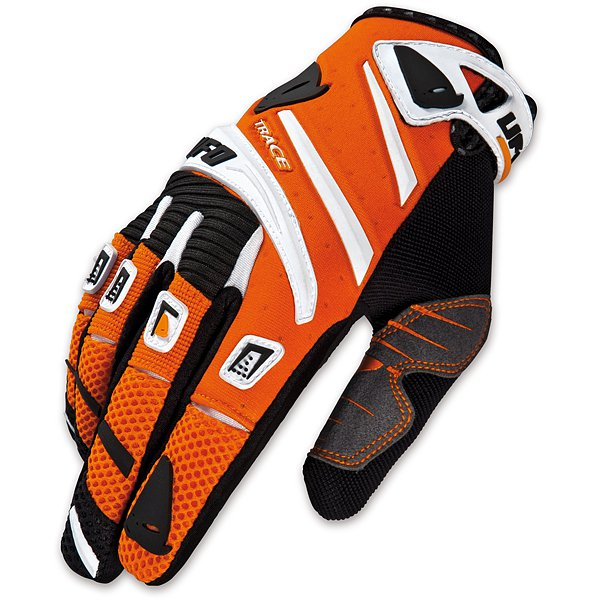 Ufo Plast Trace cross gloves Orange White