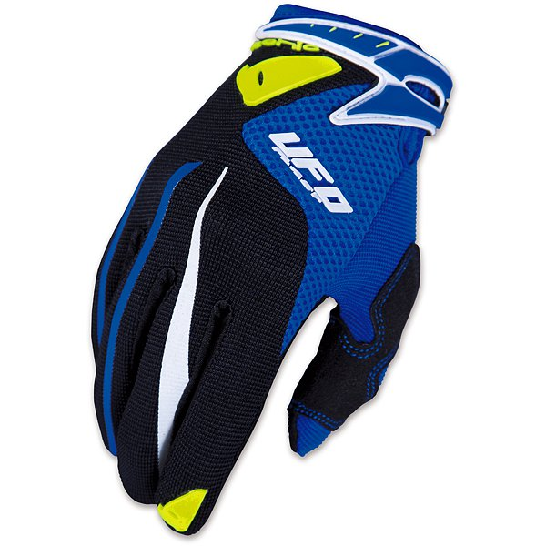 Ufo Plast Iconic cross kid gloves Blue Black