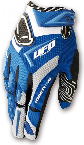 Ufo Plast ignition kid gloves blue