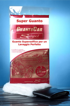 GUANTOCAR by Synpol, supersoft glove for washing perfett