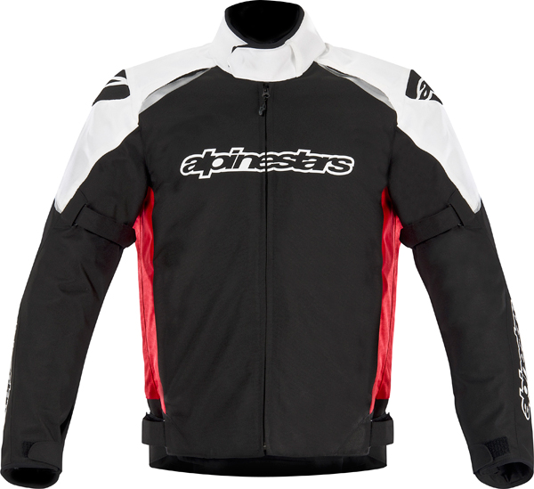 Alpinestar Gunner Waterproof motorcycle jacket black-red-white