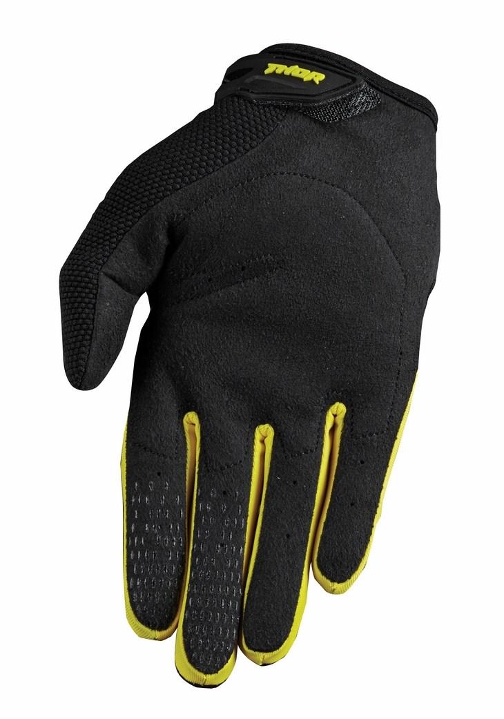 Thor Spectrum S15 gloves yellow